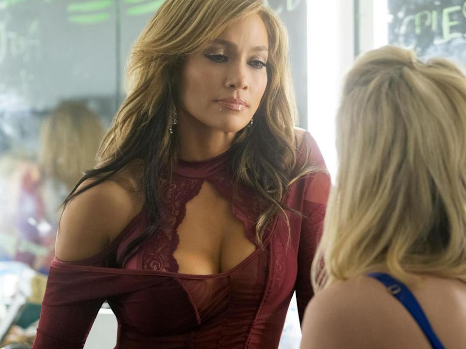 A boringly predictable absence: Jennifer Lopez in 'Hustlers': STX Films