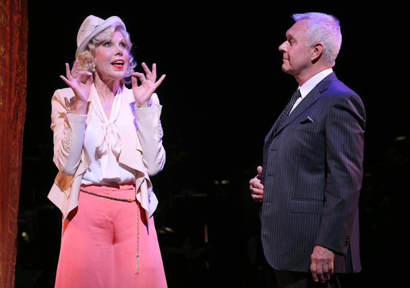 "This undated theater image released by Helene Davis Public Relations shows Christine Baranski, left, and Walter Bobbie during a performance of ""On Your Toes,"" at New York City Center in New York. (AP Photo/Helene Davis Public Relations, Joan Marcus)"