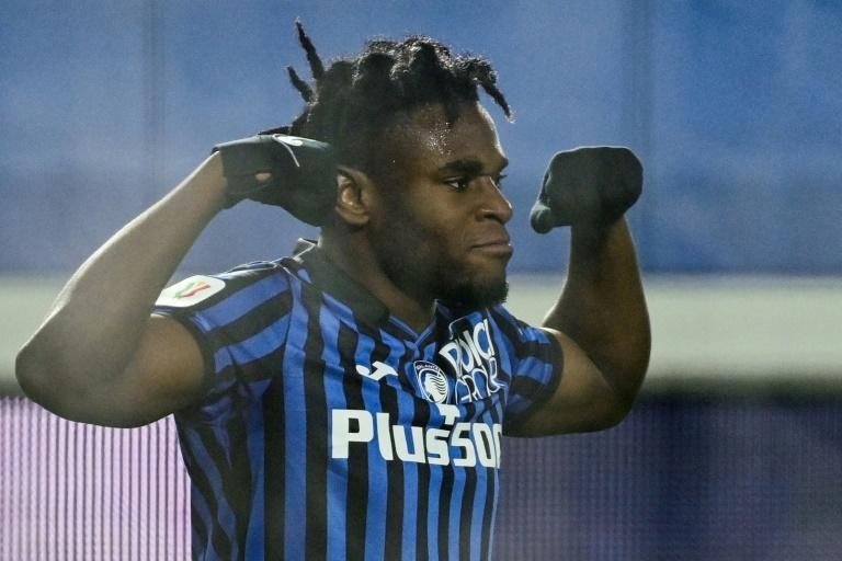 Duvan Zapata has scored 13 goals for Atalanta in the league this season.
