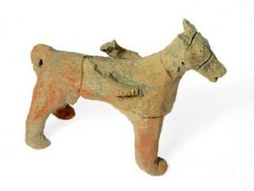 Figurine of a horse found in 2,750-year-old temple at Tel Motza