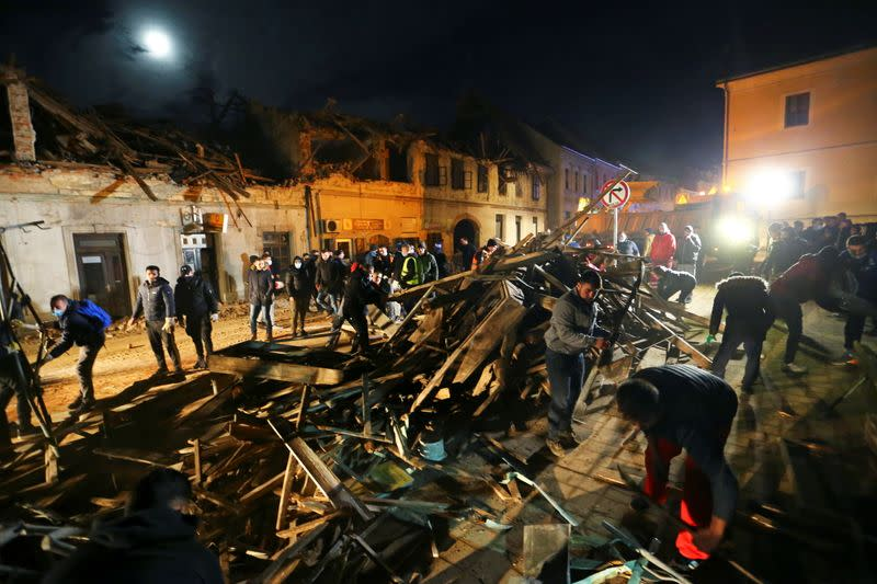 Second Earthquake In Two Days Strikes Central Croatia Killing Seven And Damaging Buildings