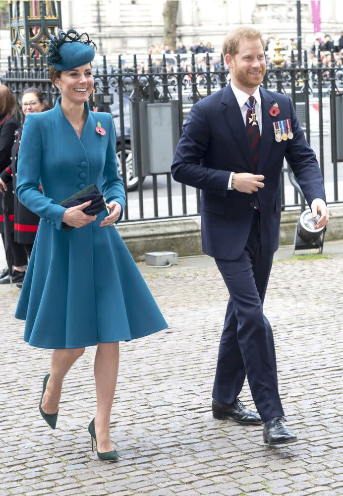 Kate Middleton and Prince Harry | Mark Cuthbert/UK Press via Getty Images