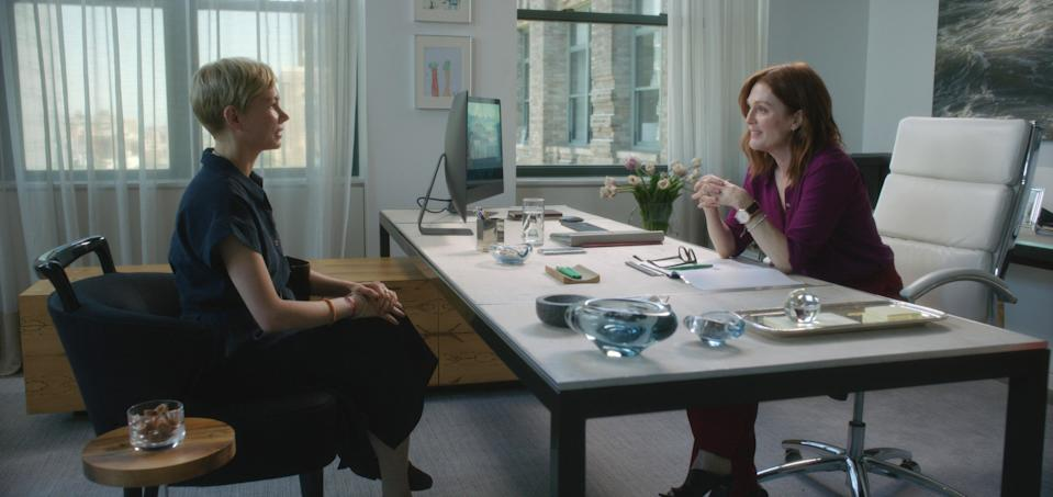 Williams and Julianne Moore in 'After the Wedding' (Photo: Julio Macat / © Sony Pictures Classics / courtesy Everett Collection)