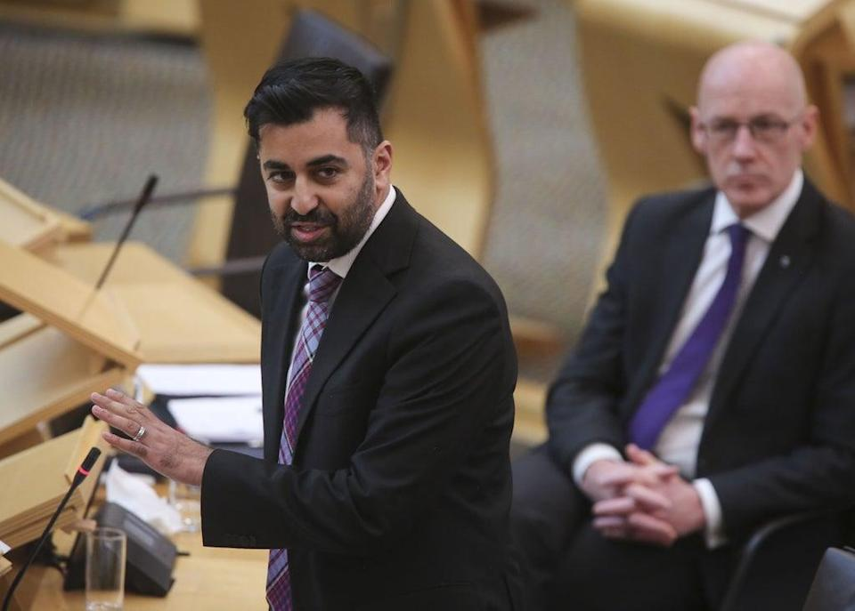 Scottish Health Secretary Humza Yousaf has said no-one should be turned away from a venue this weekend (PA) (PA Wire)