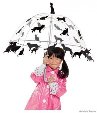 "<div class=""caption-credit""> Photo by: © Gabrielle Revere</div><div class=""caption-title"">Raining Cats and Dogs Costume</div><p> <b>All you need is:</b> a child-size clear umbrella, black sticky felt (like Preto), black poster board, fabric pencil, gray thread, a needle <br> </p> <p> Drips are for kids! This clever idea is sure to be a hit in your neighborhood. Pair the decorated umbrella with the raincoat and rain boots your child already owns and she'll be set to have a blast in any weather. </p> <p> <a href=""http://www.parenting.com/article/Child/Activities/Raining-Cats-and-Dogs-Costume?src=syn&dom=shine"" rel=""nofollow noopener"" target=""_blank"" data-ylk=""slk:Learn how to make it! (Stencils included!)"" class=""link rapid-noclick-resp"">Learn how to make it! (Stencils included!)</a> <br> <a href=""http://www.parenting.com/halloween?src=syn&dom=shine"" rel=""nofollow noopener"" target=""_blank"" data-ylk=""slk:Visit Halloween Central"" class=""link rapid-noclick-resp"">Visit Halloween Central</a> </p>"