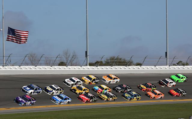 Could the racing at the All-Star Race look like this? NASCAR apparently hopes so. (Getty Images)
