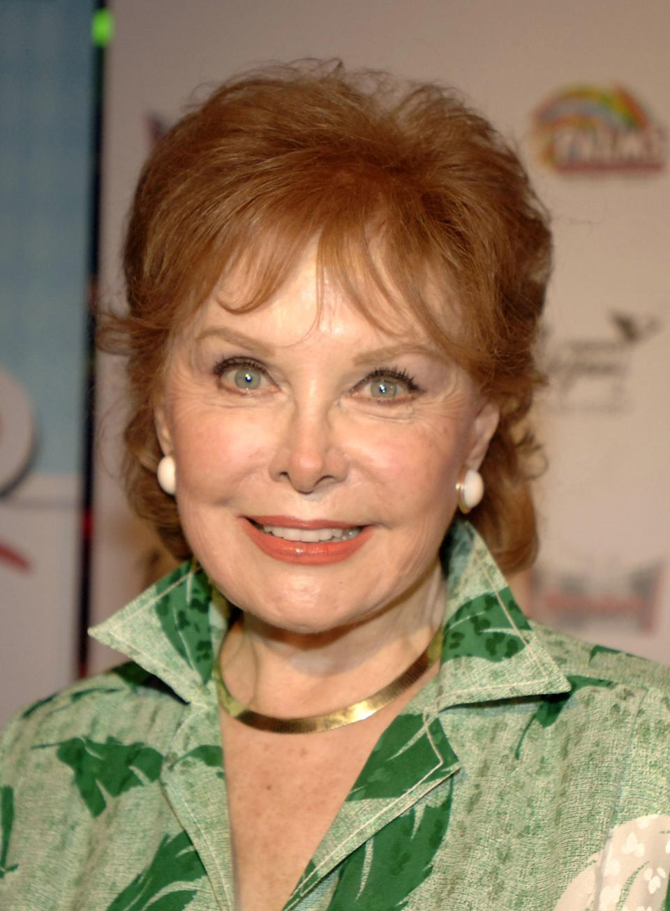 "<p>The <strong>Spellbound</strong> actress, known as the ""Queen of Technicolor,"" <a href=""https://www.hollywoodreporter.com/news/rhonda-fleming-dead-star-big-912522"" class=""link rapid-noclick-resp"" rel=""nofollow noopener"" target=""_blank"" data-ylk=""slk:died at age 97 in October"">died at age 97 in October</a>.</p>"