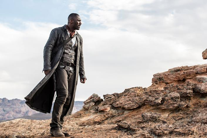 """Directed by Nikolaj Arcel &bull; Written by&nbsp;Nikolaj Arcel, Akiva Goldsman,&nbsp;Jeff Pinkner and Anders Thomas Jensen<br><br>Starring Idris Elba, Matthew McConaughey, Tom Taylor, Jackie Earle Haley and Katheryn Winnick<br><br><strong>What to expect:&nbsp;</strong>The long-awaited adaptation of Stephen King's """"Dark Tower"""" series takes place after the final book's events, when an 11-year-old adventurer is whisked to Mid-World to help the Gunslinger save the world. Given the novels' popularity and the long gestation this film has undergone, expect """"The Dark Tower"""" to be one of summer's defining hits.<br><br><i><a href=""""https://www.youtube.com/watch?v=GjwfqXTebIY"""" rel=""""nofollow noopener"""" target=""""_blank"""" data-ylk=""""slk:Watch the trailer"""" class=""""link rapid-noclick-resp"""">Watch the trailer</a>.</i>"""