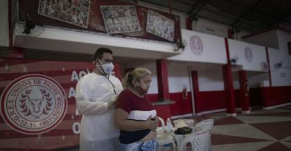 Virus spread 'still accelerating' in Brazil, Peru, Chile: WHO regional office