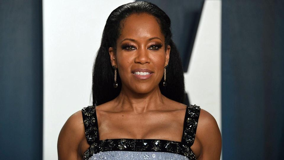 Mandatory Credit: Photo by Evan Agostini/Invision/AP/Shutterstock (10552578lo)Regina King arrives at the Vanity Fair Oscar Party, in Beverly Hills, Calif92nd Academy Awards - Vanity Fair Oscar Party, Beverly Hills, USA - 09 Feb 2020.