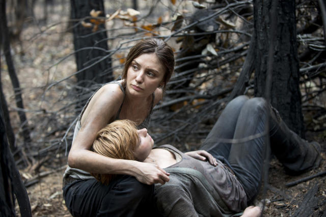 Christine Evangelista as Sherry in AMC's <i>The Walking Dead</i>. (Photo: Gene Page/AMC)