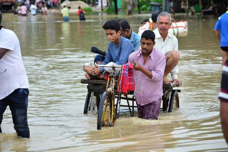 The June to September monsoon causes widespread destruction across South Asia each year