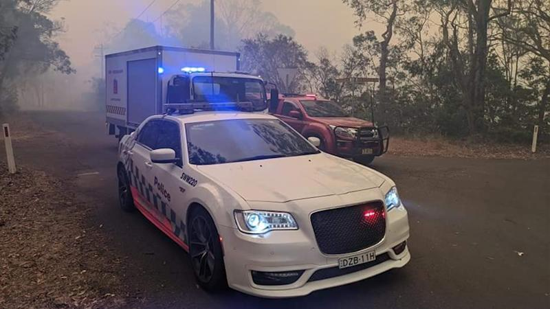 Police pulled over a man who flicked a lit cigarette out the window, just 20km away from where fires were burning, south of Sydney. Source: Traffic and Highway Patrol Command - NSW Police Force