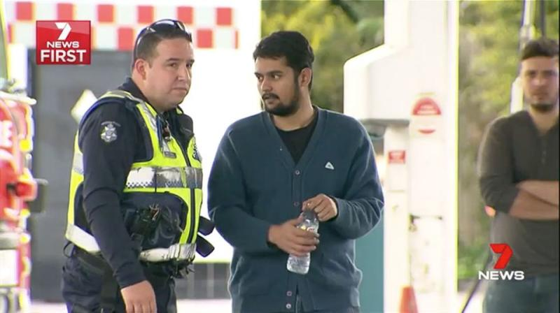 Narendren Ramakrishnan said he was just relieved no one was injured. Source: 7 News