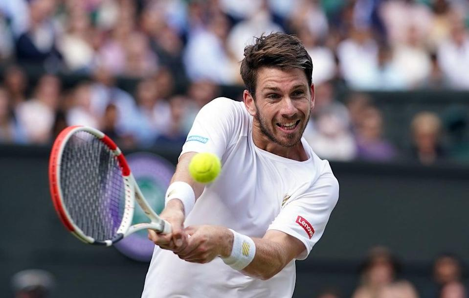 Cameron Norrie is into the last 16 at Indian Wells (Adam Davy/PA) (PA Wire)