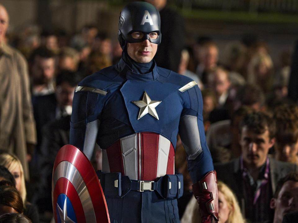 <p>Captain America co-creator's son condemns pro-Trump Capitol Hill rioters using Marvel character's imagery</p> (Shutterstock/Rex)