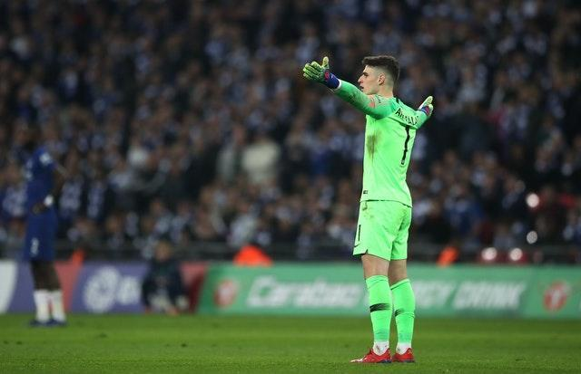 Kepa refused to be substituted at Wembley