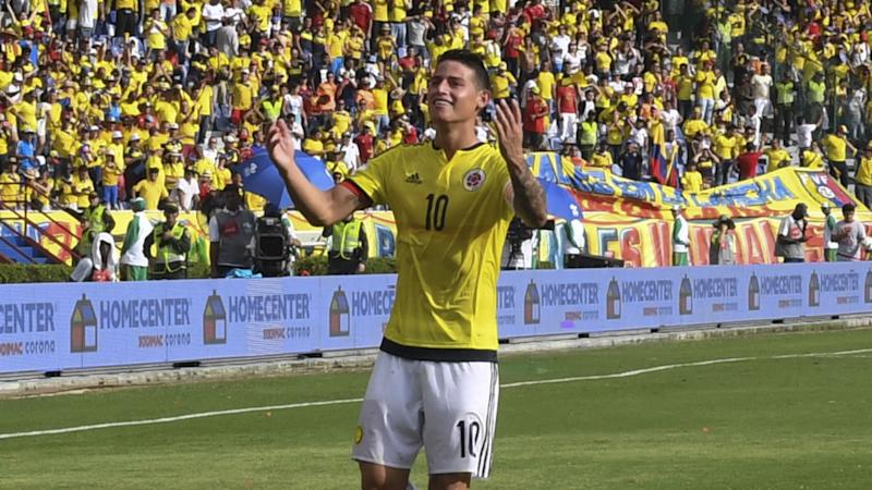 James gol Colombia vs Venezuela Eliminatoria 2016