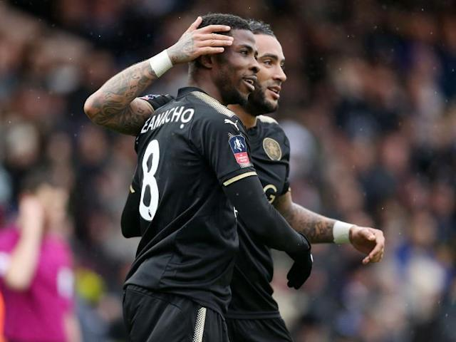 Kelechi Iheanacho and Fousseni Diabate star as Leicester ease past Peterborough into FA Cup fifth round