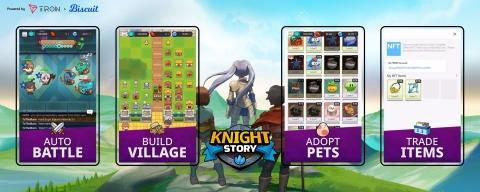 Biscuit & TRON Partner to Deliver Hit Sequel, Knight Story