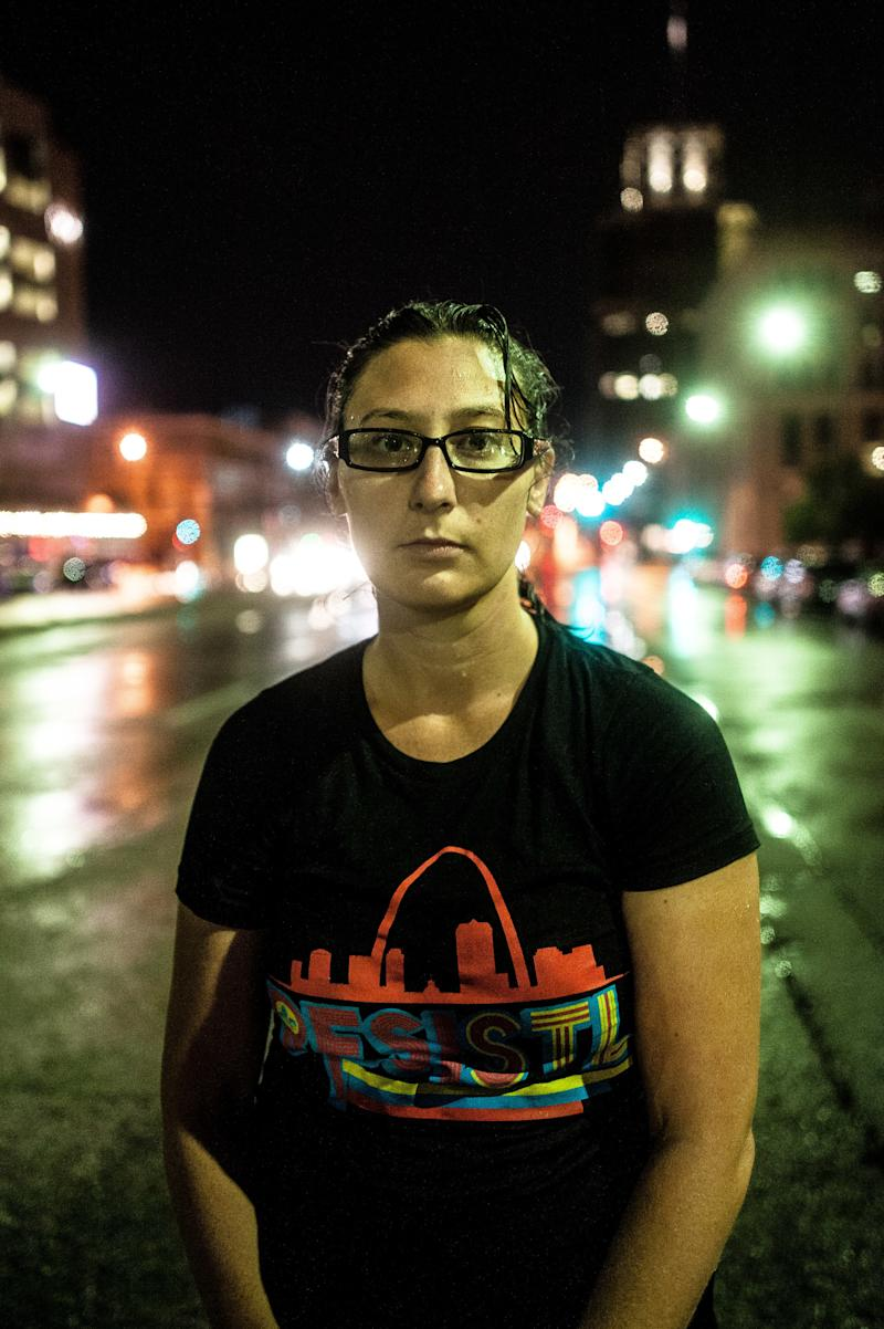 St. Louis Alderwoman Megan Ellyia Green. (Joseph Rushmore for HuffPost)