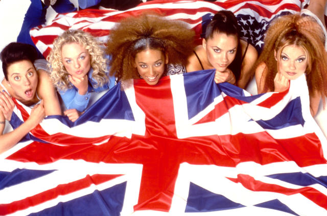 The Spice Girls in 1997. (Ray Burmiston/Photoshot/Getty Images)