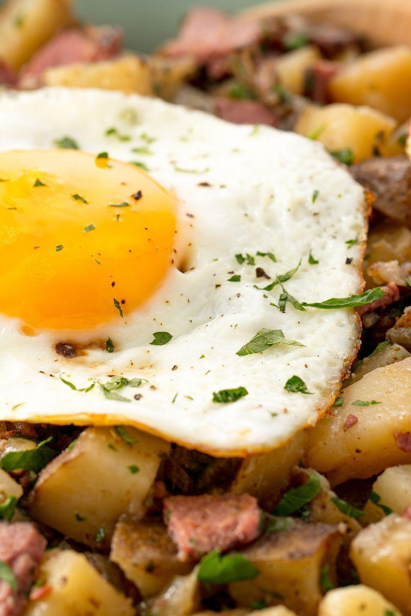 """<p>The ultimate comfort food all cooked up in a slow cooker.</p><p>Get the <a href=""""https://www.delish.com/uk/cooking/recipes/a29794821/slow-cooker-corned-beef-and-hash-recipe/"""" rel=""""nofollow noopener"""" target=""""_blank"""" data-ylk=""""slk:Slow Cooker Corned Beef Hash"""" class=""""link rapid-noclick-resp"""">Slow Cooker Corned Beef Hash</a> recipe.</p>"""