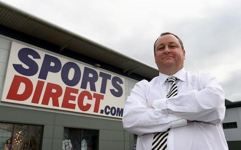 Profits at Sports Direct plunged around 67pc