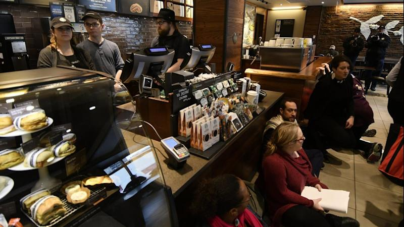 Starbucks cafes shut for racial training
