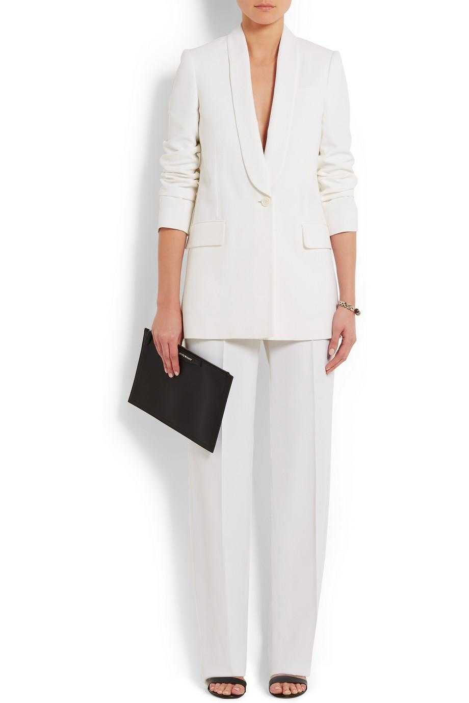 <p>An expensive option, this Givenchy suit is definitely an investment ensemble. Trousers £590, blazer £1520. </p>