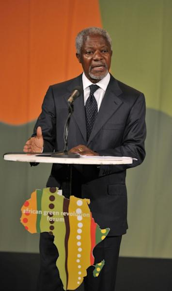 By the time Annan left Kenya, it was almost with the aura of a miracle-worker