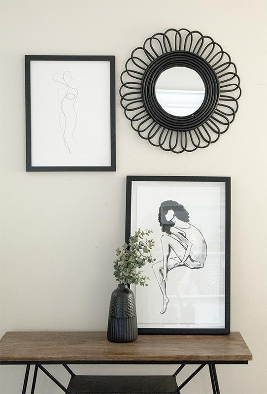 "<p>This cool <a href=""https://www.popsugar.com/buy/Black-Bamboo-Flower-Mirror-582474?p_name=Black%20Bamboo%20Flower%20Mirror&retailer=effortlesscomposition.com&pid=582474&price=45&evar1=casa%3Aus&evar9=47553754&evar98=https%3A%2F%2Fwww.popsugar.com%2Fhome%2Fphoto-gallery%2F47553754%2Fimage%2F47553840%2FBlack-Bamboo-Flower-Mirror&list1=shopping%2Chome%20decorating%2Chome%20shopping&prop13=api&pdata=1"" class=""link rapid-noclick-resp"" rel=""nofollow noopener"" target=""_blank"" data-ylk=""slk:Black Bamboo Flower Mirror"">Black Bamboo Flower Mirror</a> ($45) will be a statement piece in any room.</p>"