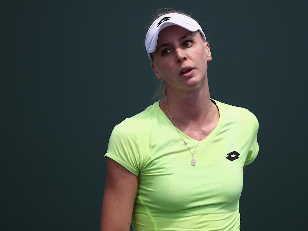 Broady slipped to a straight sets defeat against the Hungarian: Getty