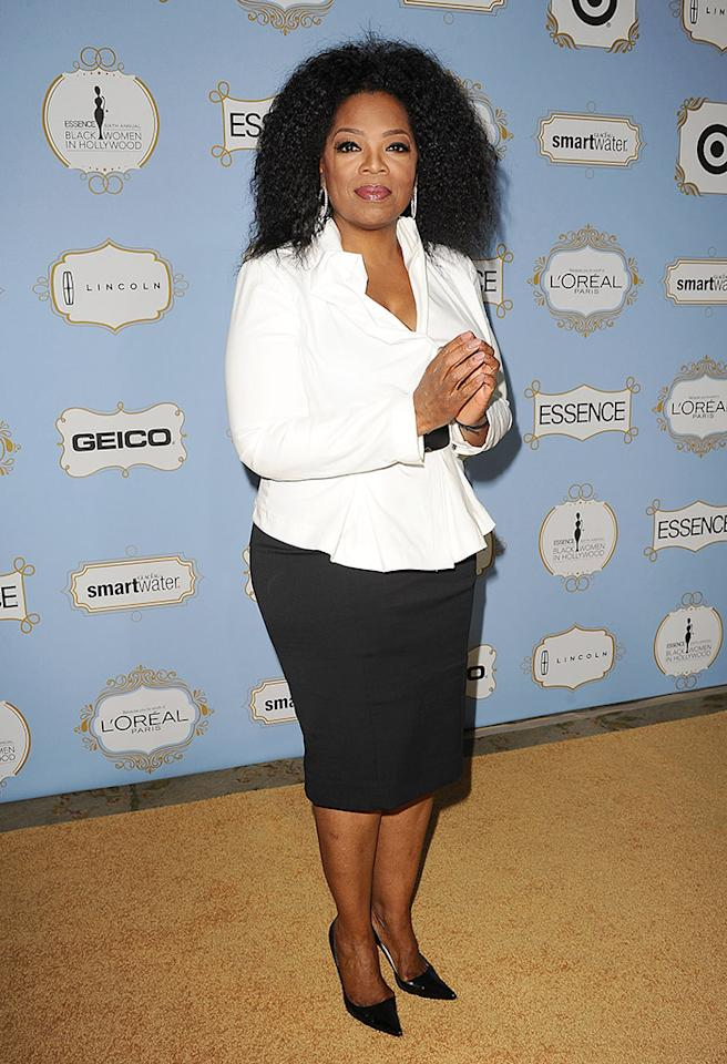 BEVERLY HILLS, CA - FEBRUARY 21:  Oprah Winfrey attends the 6th annual ESSENCE Black Women In Hollywood awards luncheon at Beverly Hills Hotel on February 21, 2013 in Beverly Hills, California.  (Photo by Jason LaVeris/FilmMagic)