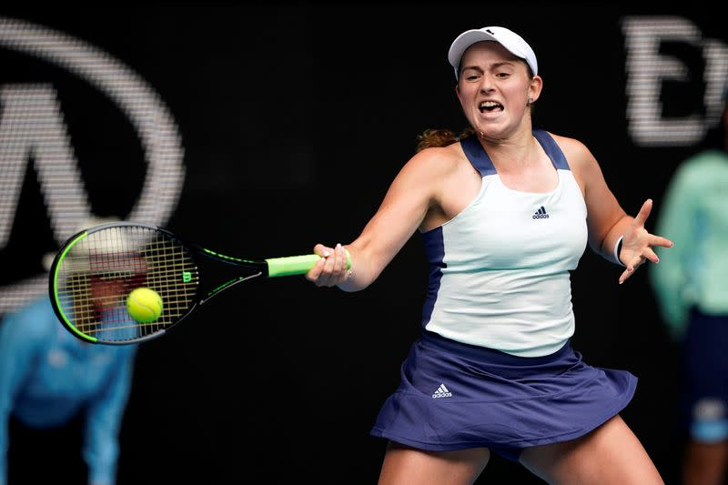 'Boom or bust' Ostapenko striving for consistency in game