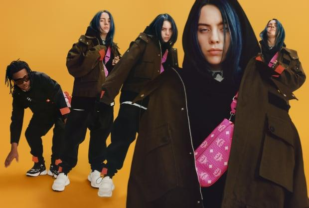 <p>Billie Eilish for the MCM Fall 2019 campaign. Photo: Lea Colombo/Courtesy of MCM</p>