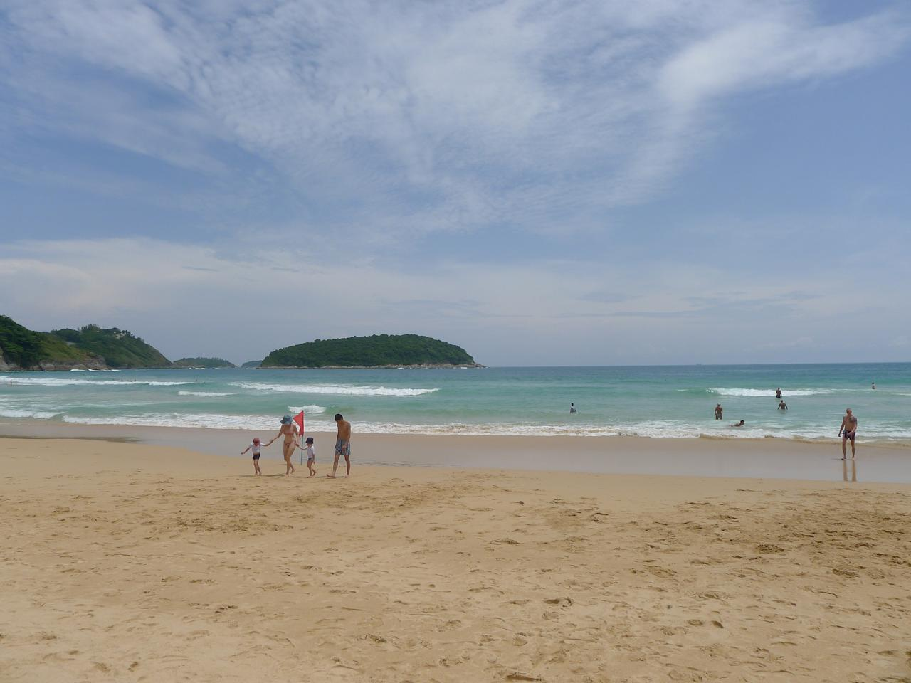 "<p>No. 8 Most Affordable Beaches: Thailand<br /> Sunscreen: $8.49<br /> Water: $0.37<br /> Beer: $2.72<br /> Ice Cream: $0.93<br /> Lunch: $9.17<br /><b>Total: $21.68</b><br /> (Photo: Nai Harn Beach in Phuket, Thailand/wales_gibbons/<a rel=""nofollow"">Flickr</a>) </p>"