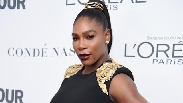 Serena Williams offers her top-10 personal moments of 2017. (Photo: Getty)
