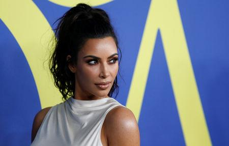 FILE PHOTO: Kim Kardashian attends the CFDA Fashion awards in Brooklyn, New York, U.S., June 4, 2018. REUTERS/Shannon Stapleton/File Photo