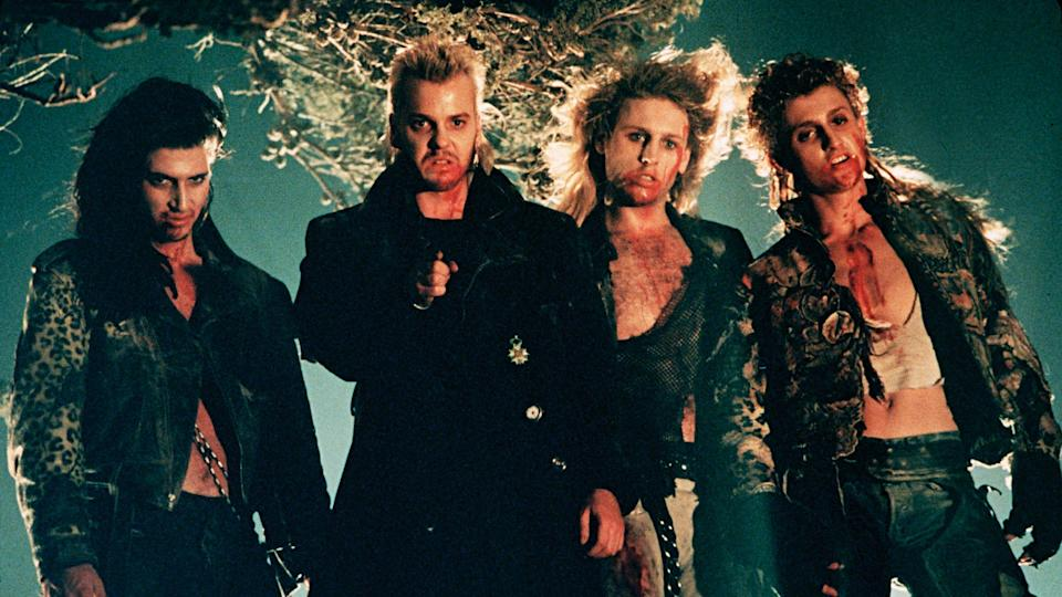 Cult vampire horror 'The Lost Boys' is back in UK cinemas. (Credit: Warner Bros)