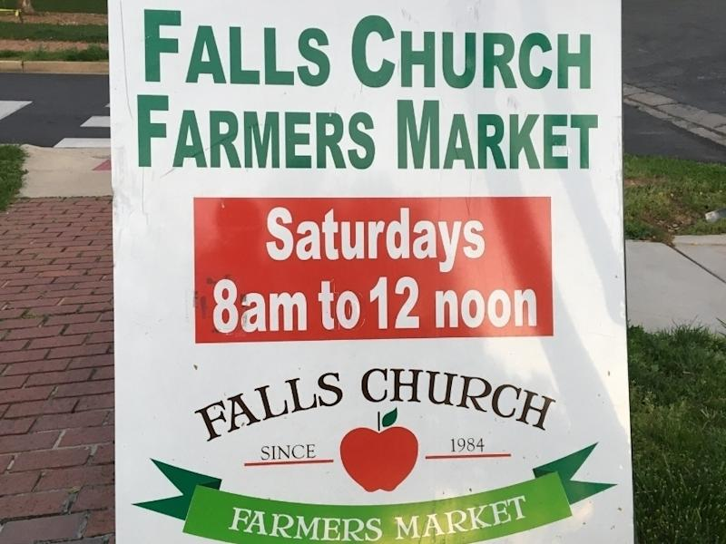 The Falls Church Farmers Market will be open for in-person purchases on Saturday, June 13.