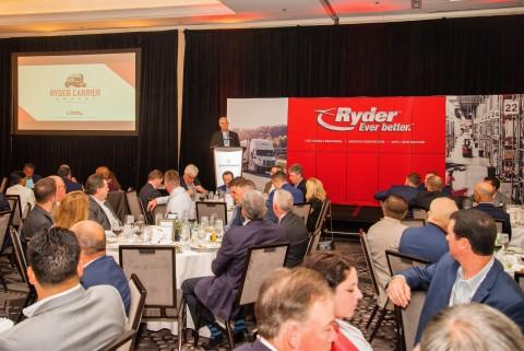 Ryder Honors Top Carriers of the Year in U.S. & Canada