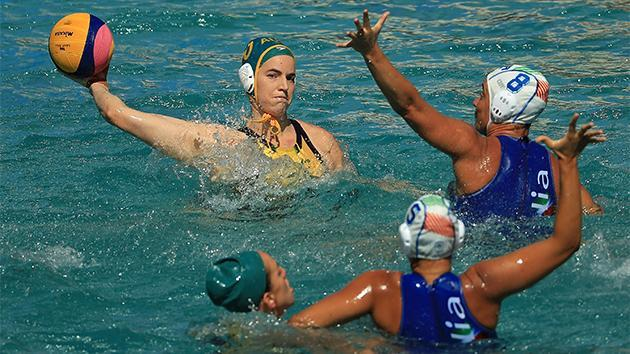 The Aussies suffered a shock water polo loss to Italy.