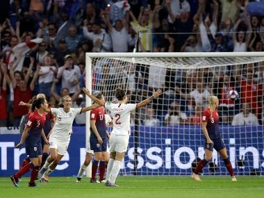 WATCH: Lucy Bronze's rocket against Norway propels England into semi-final of FIFA Women's World Cup 2019