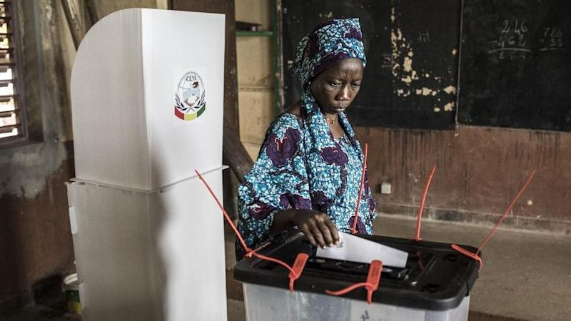 5 million Guineans vote for new president  as Alpha Conde looks for third term