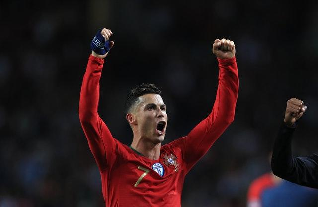 Portugal's Cristiano Ronaldo could still be playing with Juventus at the age of 38 (Mike Egerton/PA)