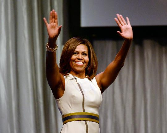Michelle Obama, Born TV Star, Will Appear on 'Project Runway Junior'