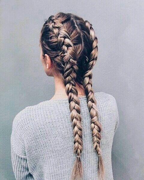 <p>Braids are the ultimate cool accessory. [<i>Photo: Pinterest]</i></p>
