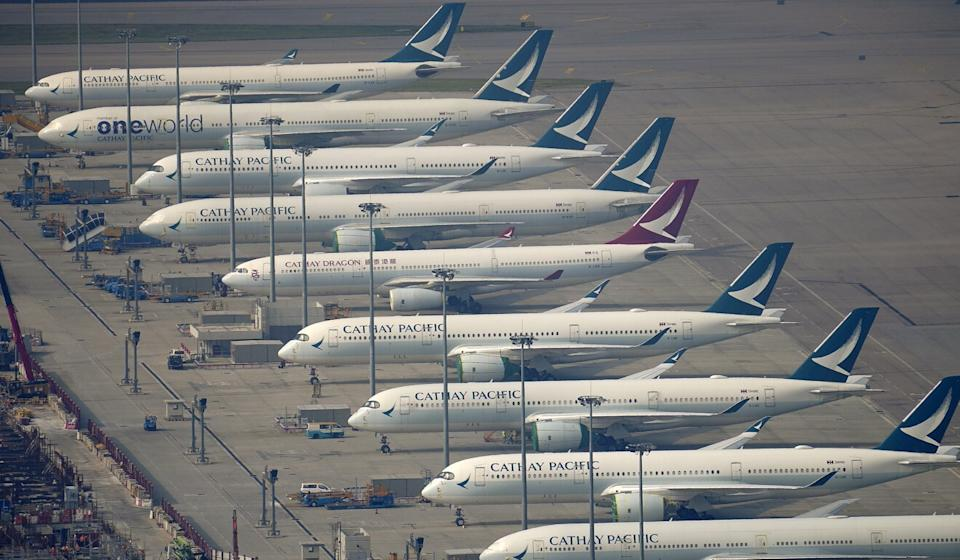 Cathay Pacific's massive restructuring was aimed at helping the airline survive the coronavirus pandemic, which has hammered air travel. Photo: Sam Tsang