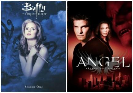 """<div class=""""caption-credit""""> Photo by: Amazon</div><div class=""""caption-title"""">Buffy the Vampire Slayer Spin-Off - Angel</div>One of the highlights of Buffy the Vampire Slayer, for many a young woman, was the hunky David Boreanaz in the role of Angel. And he had so much of a fan base that it warranted his own show. He even took some of the other Buffy characters with him, like Cordelia and Wesley. Both Buffy and Angel became cult favorites that stand the test of time."""